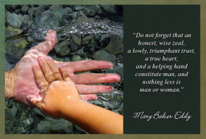 Do not forget that an honest, wise zeal, a lowly, triumphant trust, a ...