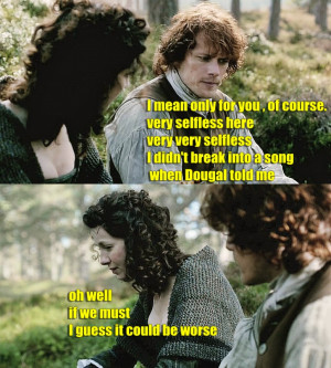 Outlander Jamie Fraser claire beauchamp jamie x claire what a good ...