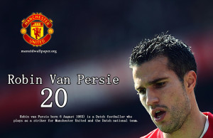 Description: Robin Van Persie 20 Manchester United 2012-2013 is a hi ...