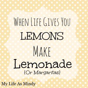 Lemons Turned to Lemonade {BBC Phoenix}