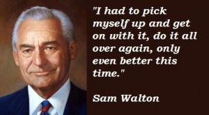 sam walton quotes capital isn t scarce vision is sam walton