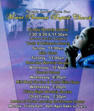 Baptist Church Bulletins Image Search Results