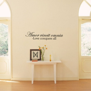 Love Conquers Quote