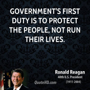 ronald reagan quotes about governmet