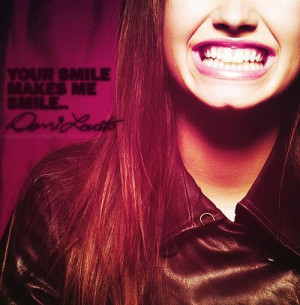 Demi lovato, quotes, sayings, smile, cute