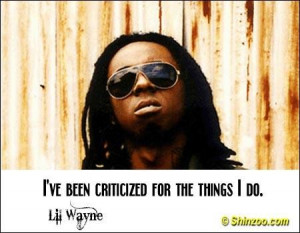 Lil Wayne Quotes and Sayings