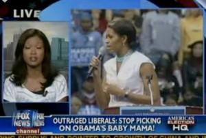 "Fox News calls Michelle Obama ""Obama's baby mama"""