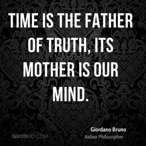 Giordano Bruno Time Quotes