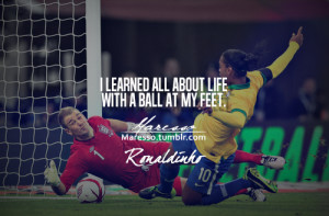 soccer quotes ronaldinho