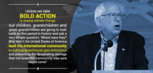 Image from Bernie Sanders quote.