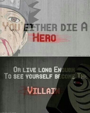 In Naruto, you can do both. Several times. In any order. ^ haha! XD ...