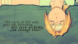 Best quote - Fullmetal Alchemist Picture