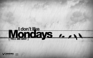 Funny Monday Quotes Quote about mondays: mondays a