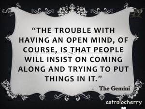 Star Sign QuotesGemini- Terry Patchett… yes the open minded Gemini ...
