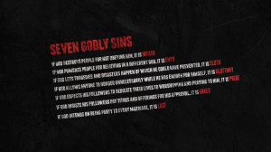 God atheism nightmare quotes seven deadly sins wallpaper