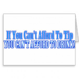 Funny Bartender Sayings Cards & More