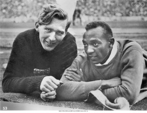 Jesse Owens and Luz Long