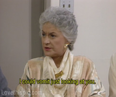Bea Arthur as the hilarious Maude