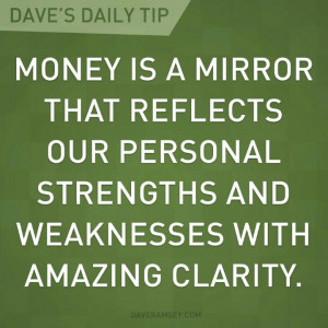Dave Ramsey is a genius! I have found this to be so true!