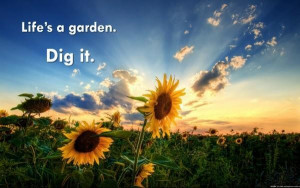 Images life is a garden picture quotes image sayings
