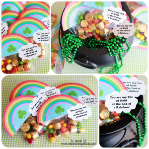 St. Patrick's Day Lucky Treasure Hunt, Treat Toppers & Free ...