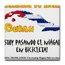 Funny Cuban Sayings Drink Coasters