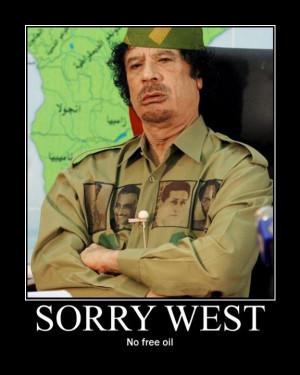 As Mutassim Billah al Gaddafi said in his speech yesterday: