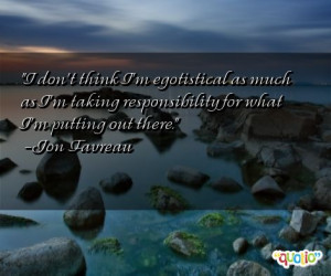Quotes About Egotistical People