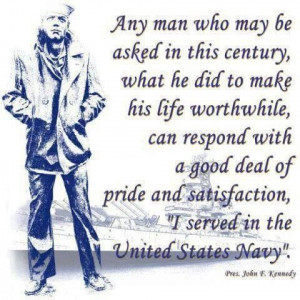 John F Kennedy Navy Quote President john f kennedy quote about serving ...
