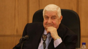 Deputy Prime Minister, Foreign and Expatriates Minister Walid Muallem ...