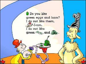 Dr Seuss Green Eggs and Ham - WorldStart.