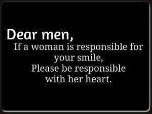Dear men,