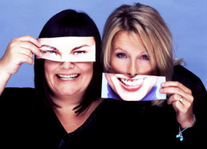 somewhere between crap and mediocre lies french and saunders french