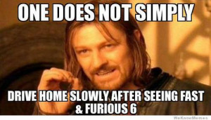 Fast & Furious 6: LEGIT | via Facebook