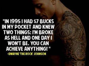Inspirational Quote: Dywane 'The Rock' Johnson