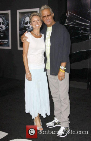Picture David R Ellis and his wife Cindy Ellis Hollywood California