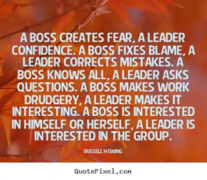 Good Boss Quotes for Leaders