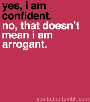 Confidence is not high maintenance