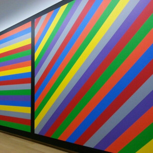 Sol Lewitt's Wall Drawing #1084 at the Stedelijk Museum in #Amsterdam.
