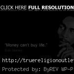 bob marley quote about money