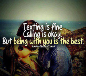 , calling, english quotes, girl, girlfriend, kiss, love, quotes ...