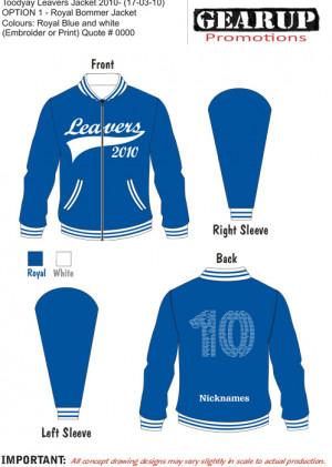 Toodyay Leavers Jacket 2010.cdr