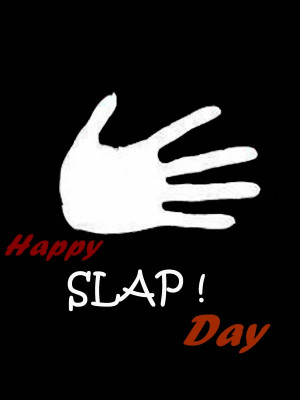 Happy Slap Day 2014 Wishes Messages and Quotes Wallpapers 15th Feb