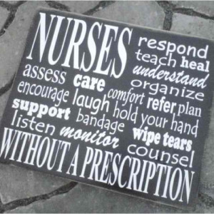 Happy Nurses Week to all my fellow nurses out there! This is the week ...