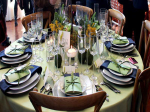 Italian Table Setting Ideas