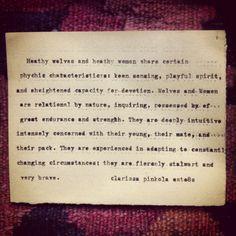 Magical Realisms   Clarissa Pinkola Estes is my Fairy Godmother More