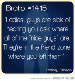 Funny photos funny nice guys friendzone quote