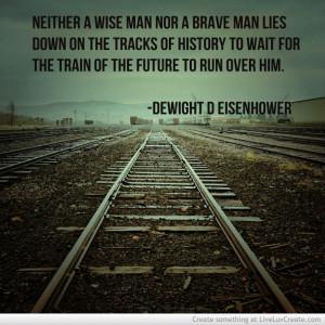 Train Track Life Quote