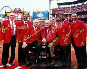 True Legends - Cardinals Hall of Famers.Cardinals National, Cardinals ...