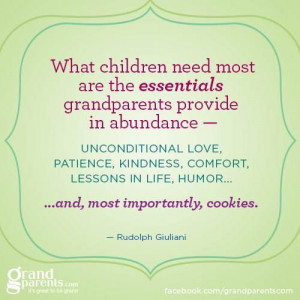 What children need most...